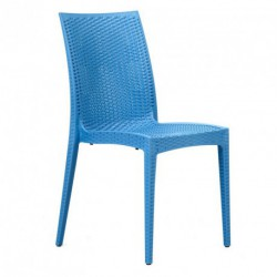Chaise NEPTUNE turquoise