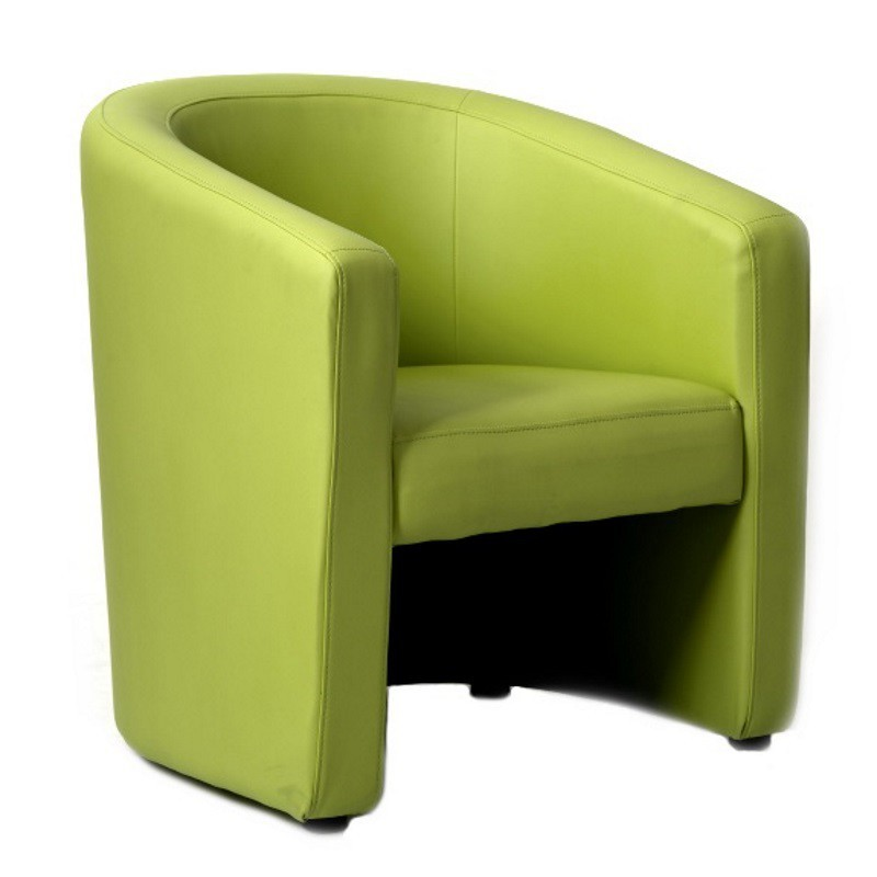 fauteuil narcisse vert anis sabannes r ception. Black Bedroom Furniture Sets. Home Design Ideas