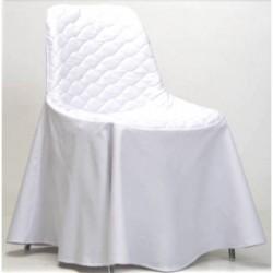 housse coque blanche sabannes r ception. Black Bedroom Furniture Sets. Home Design Ideas