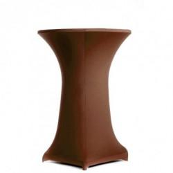 Housse mange-debout chocolat