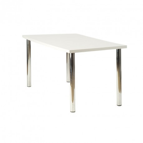 table rectangulaire thales blanche sabannes r ception. Black Bedroom Furniture Sets. Home Design Ideas