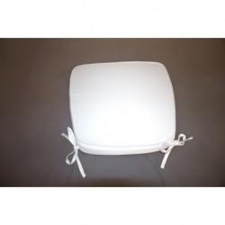 Galette de confort trapézoïdale blanche à nouettes