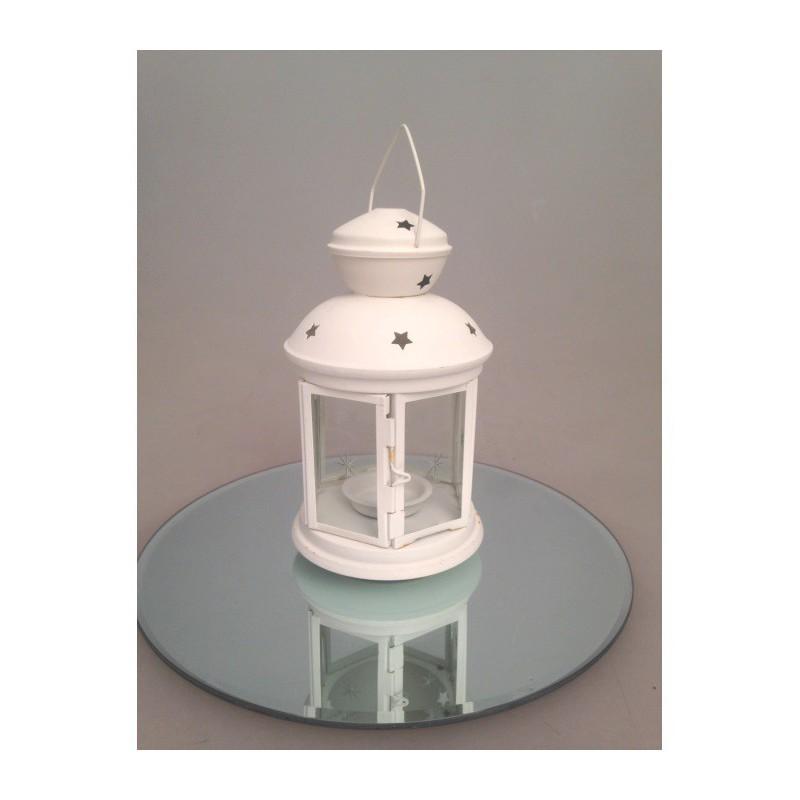 lanterne blanche ajour e sabannes r ception. Black Bedroom Furniture Sets. Home Design Ideas