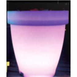 Pot de fleurs leds 66 cm