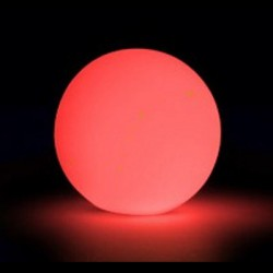 Boule lumineuse à leds 30 cm