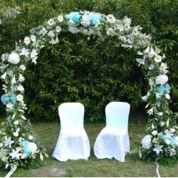 Arches et tonnelles fleuries