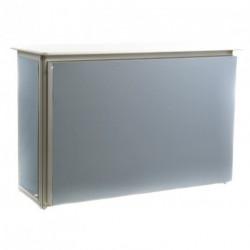 Comptoir MODULOOK gris perle