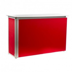 Comptoir MODULOOK rouge