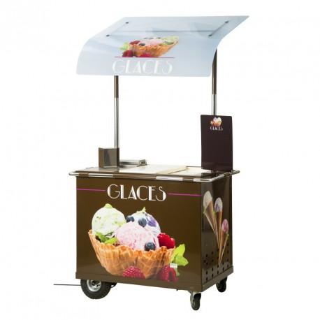 Chariot à glaces OLERON