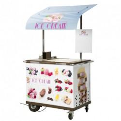 Chariot à glaces ST TROPEZ