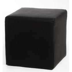 Pouf SCYLLA noir 40 cm