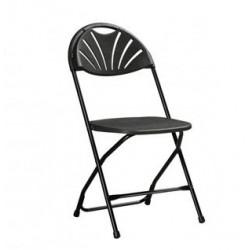 Chaise FORTUNA noire