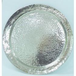 PlateauCRONOS fer blanc 80 cm
