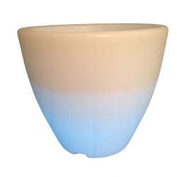 Pot leds MALAGA 44 cm